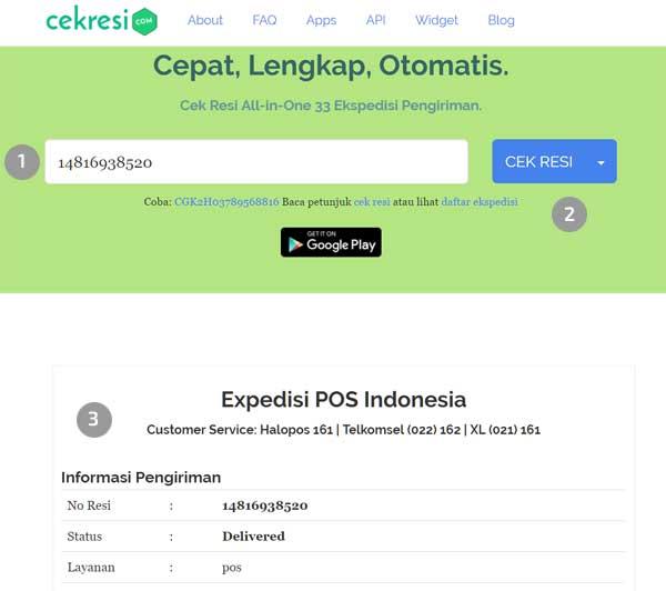 cek resi pos indonesia dan lacak kiriman online 2018 – cekresi.com