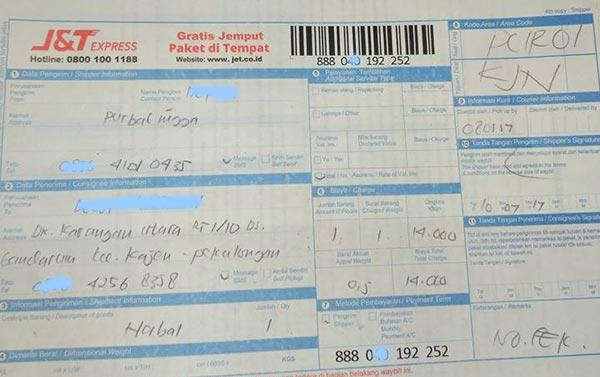 Cek Resi J&T Express Tracking Akurat dan Mudah 2020 - Cekresi.com
