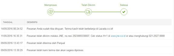 Order Tracking Lazada Cepat Dan Mudah Cekresi Com