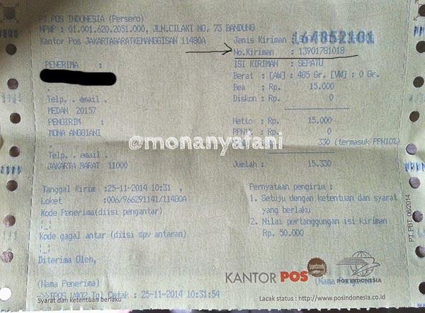 Lacak Kiriman Pos Indonesia Cepat & Mudah 2018 - Cekresi.com